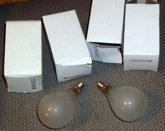 Small Base light Bulbs,  NINE Bulbs, chandelier bulbs, ceiling fan bulbs, Light bulbs, Craft Supplies, Lighting