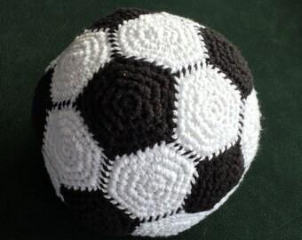 "Handmade Soccer Ball 23 "" ~ Soccer Ball for Indoors ~ Crocheted Soccer Ball ~ Soccer Theme Photo Prop ~ Made to Order ~ Custom Colors"