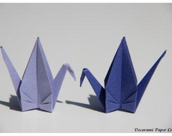 Origami Cranes - 100 units - Lavender or Lilac