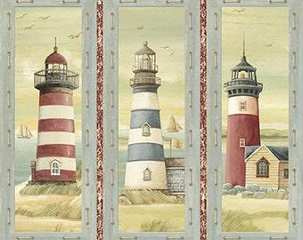 Quilting Treasures - Seaside Panel