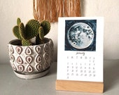 2016 Calendar - Illustrated wall or desktop 12 month calendar