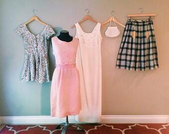 Vintage Lot of Sale Clothing plus Freebies