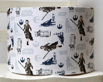 Handmade Star Wars Lampshade