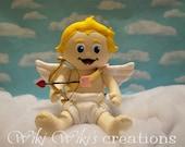 Baby Cupid Plush Doll