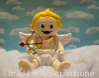 Baby Cupid Plush Doll