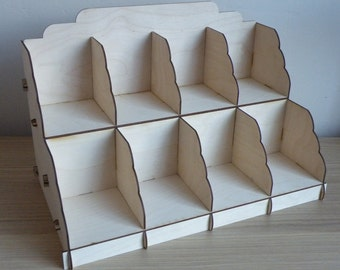 Soap Display Stand - 4 column