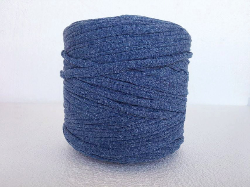 brillant blue t shirt yarn zpagetti yarn cotton tshirt tricot recycled tshirt yarn. Black Bedroom Furniture Sets. Home Design Ideas