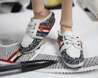 1:6 scale loafers doll shoes for ken fashion royalty taeyang obitsu isul ever after high polymer clay shoes
