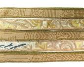 Brown Silk Ribbon, W562