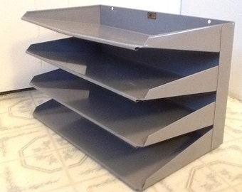 Metal Filing Shelf Divider Industrial Office