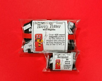 ON SALE Harry Potter with Ravenclaw Booster Word Magnet Pack