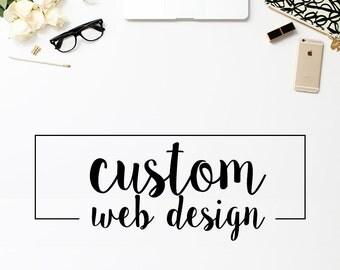 Custom Website & Ecommerce