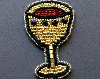 CHALICE bead embroidery