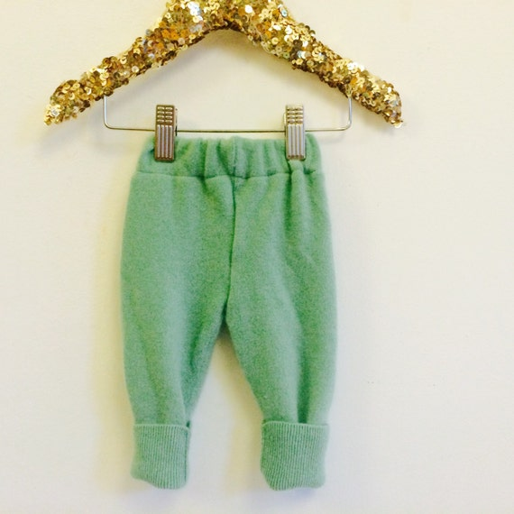 SWEEP Premature Baby Babies Cashmere Trousers Leggings Upcycled Cashmere 0m Newborn Unisex