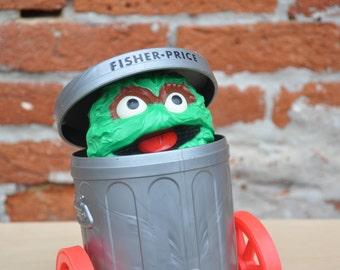 Feeling Grouchy - Oscar the Grouch Toy