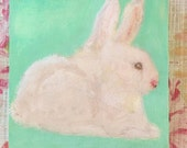 RESERVED FOR JULIE/Bunny Painting/Sold