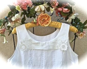 Victorian White Seashore Style Rustic Romantic Dress Sweetheart Shabby Chic Beauty Shabby Chic