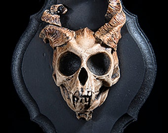 Common Imp Skull Wall Plaque, type A
