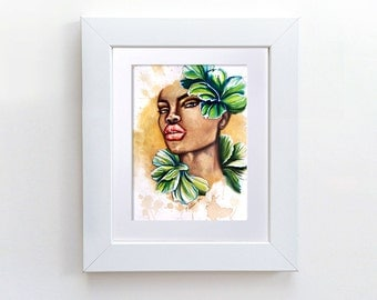 Original Painting - She Bloomed