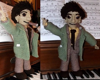Lt. Columbo, a (large) handmade detective doll