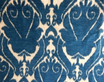 IKAT Blue and White Fabric