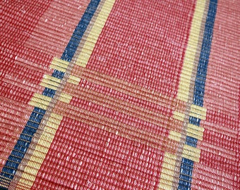 22 x 42 inch handwoven cotton rug