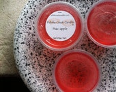 Macintosh Apple Scented Wax Tarts, Wickless Candle Melts, Gel Apple Car Air Freshener, Red Decor, Modern Home Aroma, Teachers Gift Idea