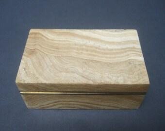 Exotic Stone Decorative Trinket Box