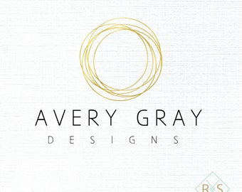Pre-Made Logo and Watermark, Logo, Watermark, Boutique, Photographer, Event Planner, Pre-made, Unique