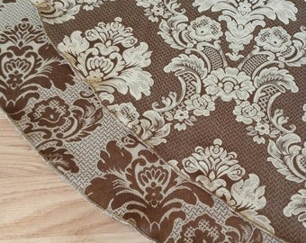 """Brown Gold 57"""" Reversible Holiday Tree Skirt, Free Shipping, Made in USA"""
