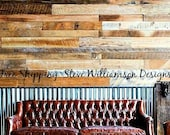 Reclaimed wood paneling -7.50 per sq ft with FREE SHIPPING