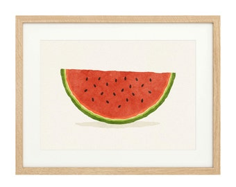 Watermelon Slice - Extra Large - Limited Edition Print