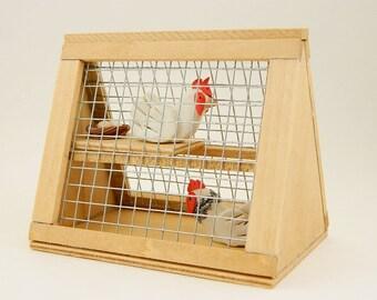 Decorative chicken coop, Pet chicken, Chicken coop ornament, A Piece of the Farm, Chicken gifts, Chicken lover