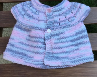 Preemie - New born sleeveless sweater