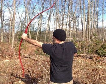 Hickory recurve selfbow longbow