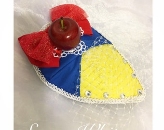 Delightfully Dapper Snow White Fascinator