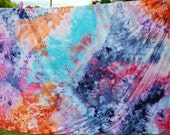 Watercolor Ice Dyed Wall Hanging