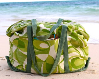 Tote Bag Pattern Beach Bag Pattern Instant Download
