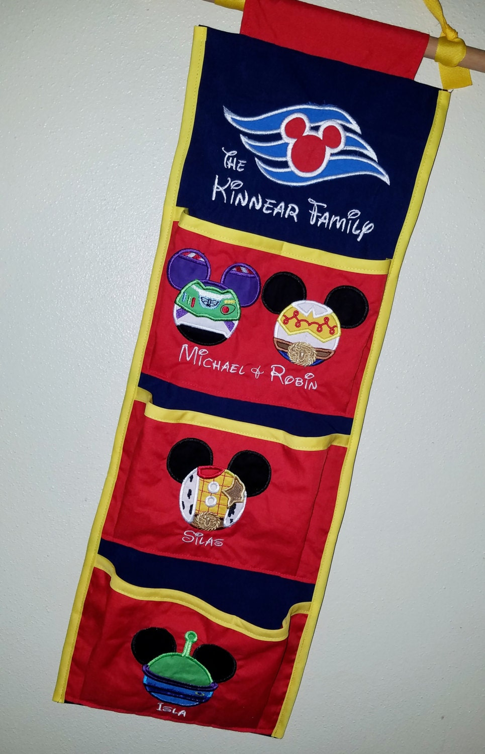 Toy story themed fish extender pirate ship for disney cruise for Disney fish extender