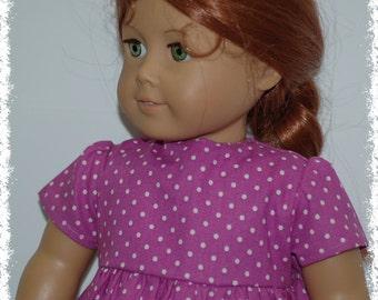 "Short Sleeve Dress  (American Girl 18"" Doll)"