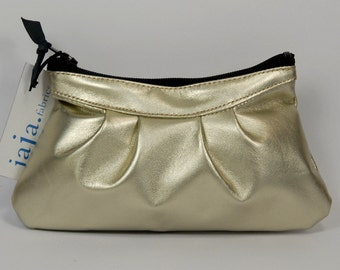 Coin purse LUCE in champagne