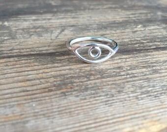 RA handmade sterling silver ring