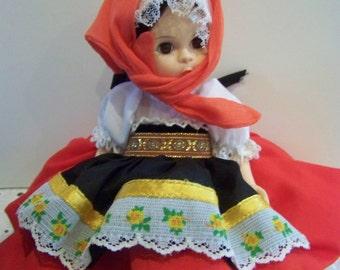 Checksovakia Madame Alexander 8 inc doll