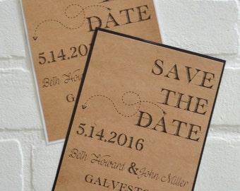 Save the Date Cards kraft save the dates kraft black arrow save the date card kraft white save the date wedding save the date country rustic