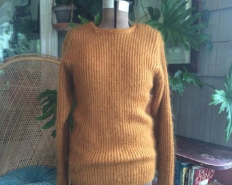 Vintage mohair oversized sweater size small S