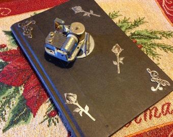 Gothic Steampunk Music box Book Louisa May Alcott