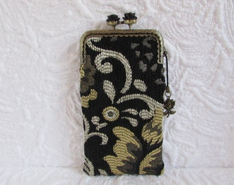 145A - iPhone 6 Case Fabric, iPod Touch Case, Cell Phone Case, Samsung Galaxy Case, cover handmade