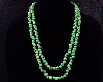 Green Acai Seed Necklace