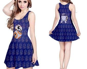 Droid Love Sleeveless Dress