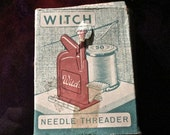 Vintage Magic WITCH Needle Threader Made In Western Germany